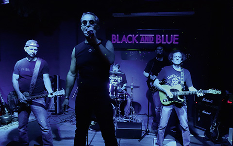 THE ROLLING STONES NIGHT mit BLACK AND BLUE
